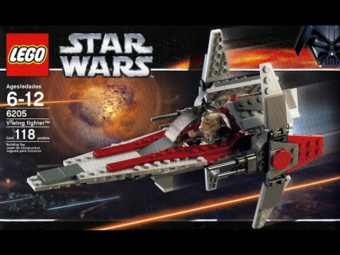Lego Instructions For Star Wars V Wing Fighter Set 6205 1 2006