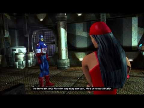 Marvel: Ultimate Alliance - Walkthrough Part 7: Fantastic Fun In Atlantis