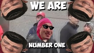 we r 1 but when they say we r 1 the bradberrys do a prank but when they scream filthy frank plays