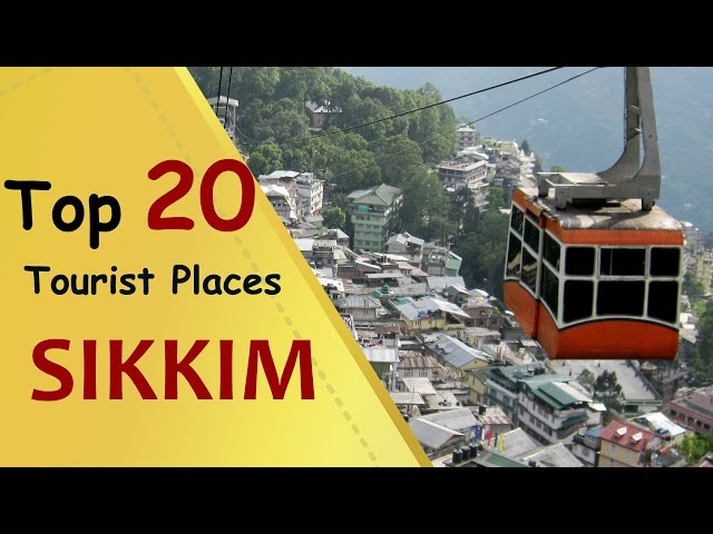 """SIKKIM"" Top 20 Tourist Places | Sikkim Tourism"