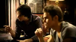 TVD 2X03 Damon & Stefan ask Alaric about Isobels reserch. Damon, Elena Alaic go to Duke