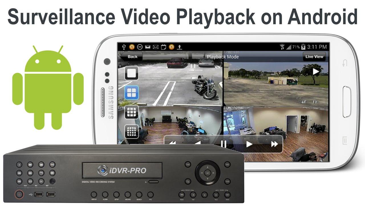 cctv surveillance video playback on android mobile app youtube. Black Bedroom Furniture Sets. Home Design Ideas