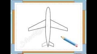 BÉ HỌA SĨ - Thực hành tập vẽ 236: Vẽ máy bay