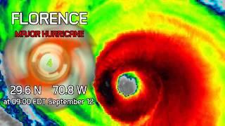 Hurricane Florence Update - 9am EDT September 12, 2018