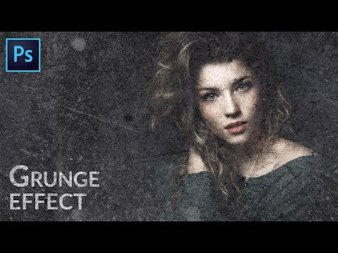 How To Add Grunge Texture In Photoshop | Photo Effects