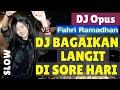 DJ TERBARU FULL BASS REMIX 2020 BAGAIKAN LANGIT DI SORE HARI 2020