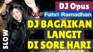 Gambar cover DJ TERBARU FULL BASS REMIX 2020 BAGAIKAN LANGIT DI SORE HARI 2020