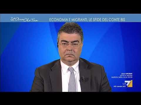 Gianluigi Paragone, M5S: 'Piantatela di dire agli italiani che la priorità è la paura del ...