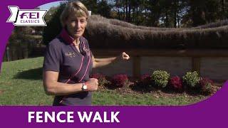 Mary King - Fence Walk - Les 4 Etoiles de Pau - FEI Classics™ Eventing 2015/16