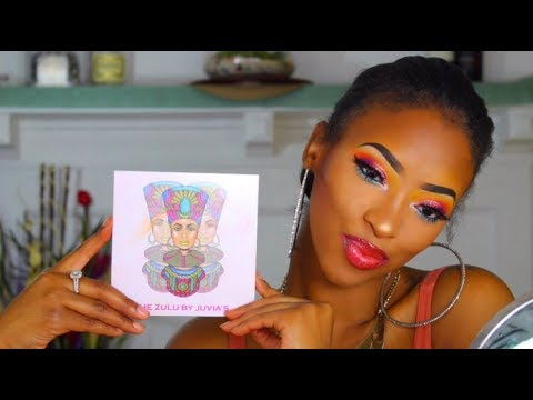 Chit Chat: GRWM FT ZULU PALETTE (Juvia's Place) | Shantell Monique