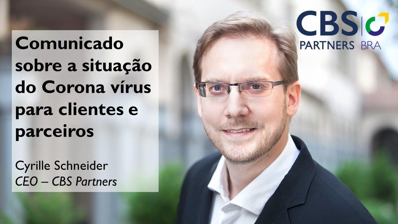 CBS Partners com o Covid-19