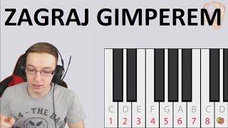 Interaktywne Youtubowe Pianino | Gimper