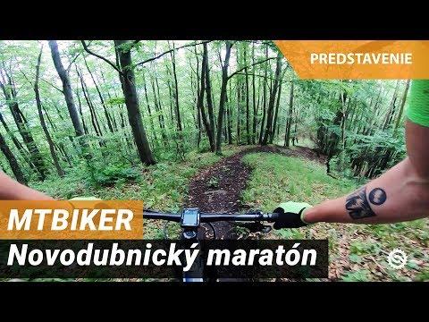 MTBIKER Novodubnický Maratón - Prehliadka Trate Hard