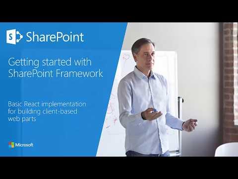 SharePoint Framework Training - Module 06 Section 4 - Basic React Implementation