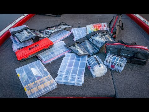 Tackle Storage And Bass Boat Organization