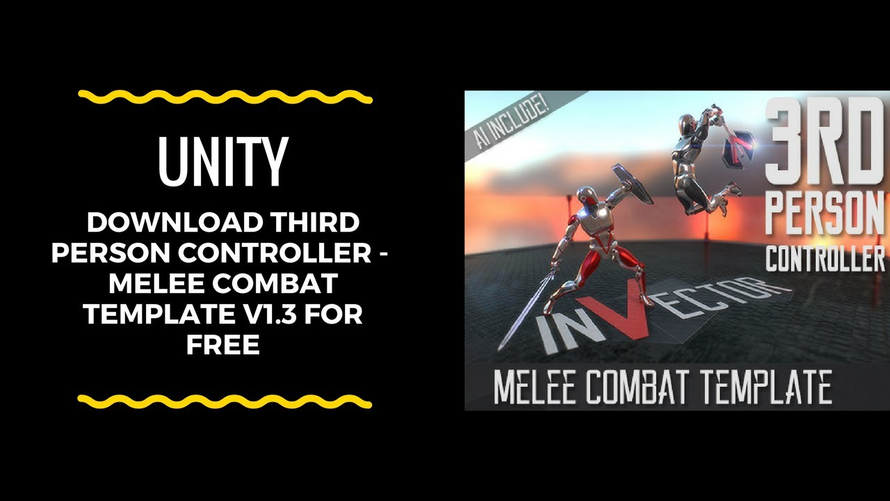 Download Third Person Controller - Melee Combat Template v1 3c for free!!!  by ItsShazOne