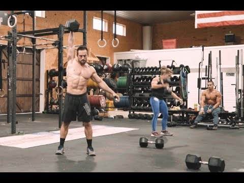 GHD + DB Snatch + Muscle Up // Workout 11.12.18