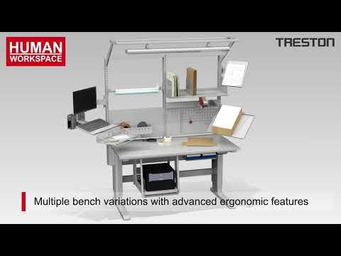 Human Workspace - Ergonomische inpaktafels