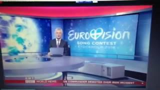 Ciaran Tuttiett on BBC World News (International version)  - 13th May 2016