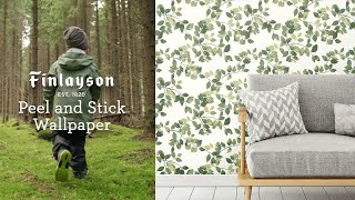 Finlayson Peel and Stick Wallpaper