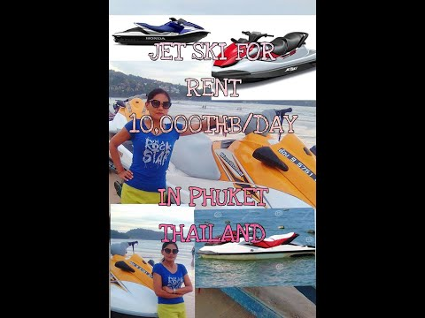 Jet Ski regular price for rent in Phuket Thailand