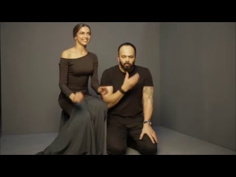 Deepika Padukone and Rohit Shetty play Identity Swap