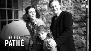 violinist yehudi menuhin with his family 1963