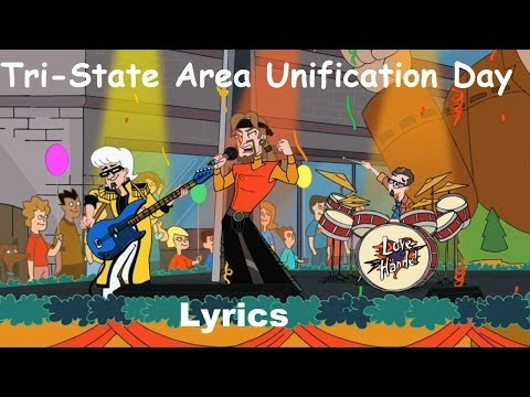 Phineas and Ferb  - Tri-State Area Unification Day Lyrics