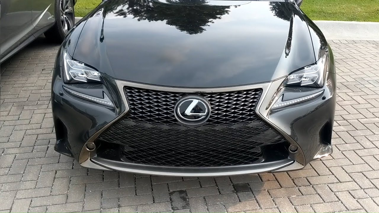 BLACK LINE EDITION Overview | 2018 RC 350 F Sport
