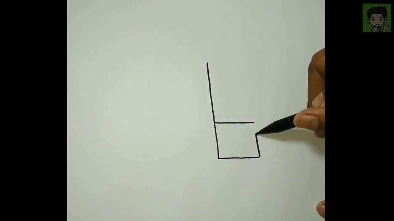 Wow Cara Menggambar Bus Sinar Jaya Dari Huruf B Mudah Dan Cepat