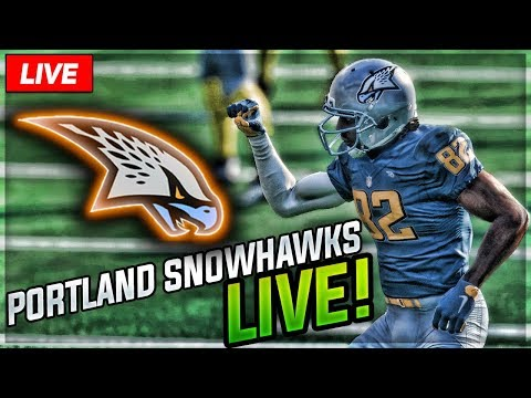 PORTLAND SNOWHAWKS LIVE    Snowhawks Relocation Franchise Mode   Ep. 10
