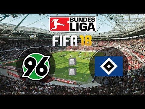 FIFA 18 Bundesliga Hannover 96 : Hamburger SV | Gameplay Deutsch Livestream