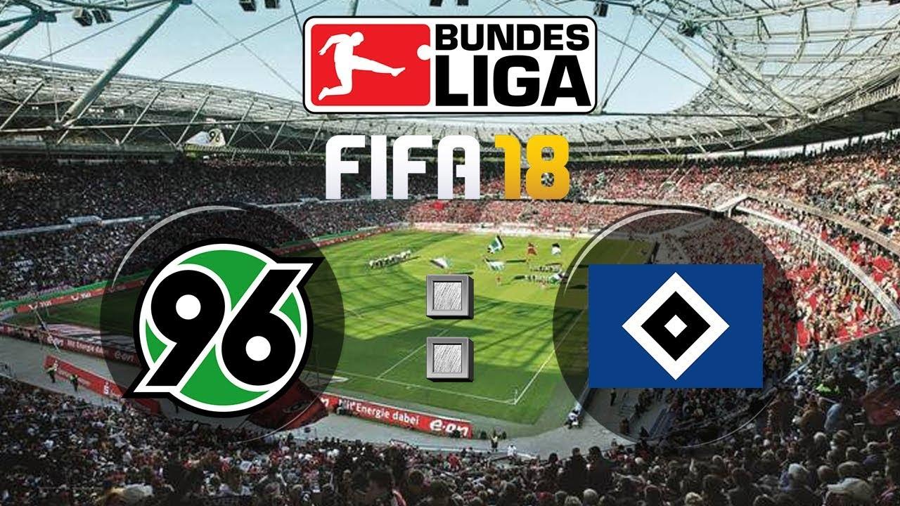 Fifa 18 Bundesliga Hannover 96 Hamburger Sv Gameplay Deutsch