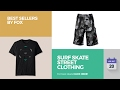 Surf Skate Street Clothing Best Sellers By Fox
