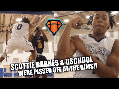 Scottie Barnes & University WENT PSYCHO ON THE RIMS!! | Catching Bodies Left & Right