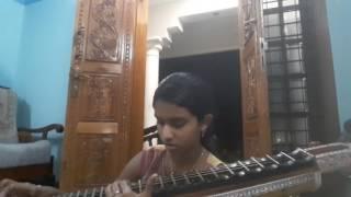 Malare /Evare from Premam in Veena  by Devanandana