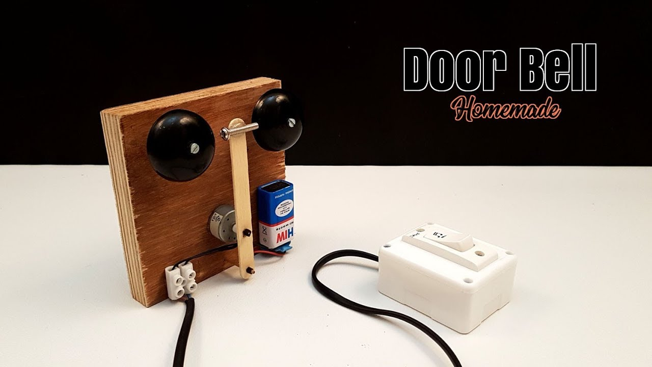 How To Make A Simple Electric Doorbell At Home Creative Life Youtube Electrical Circuits On Scratch