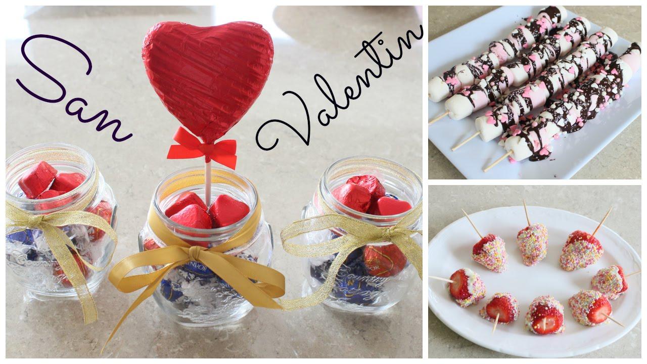 Postres regalitos para san valentin youtube - Dulces de san valentin ...