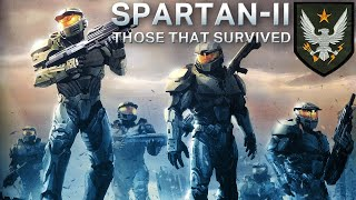 Spartan-II: Those that Survived | Spartan Survivors as of 2559
