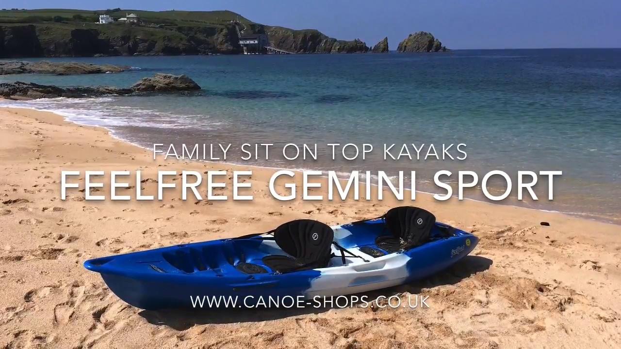 Feelfree Gemini Sport - Family Sit On Top Kayak
