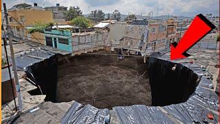 Top 15 Unusual & Strangest Sinkholes On The Earth