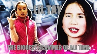 LIL TAY CAUGHT FLEXING WITH FAKE MONEY