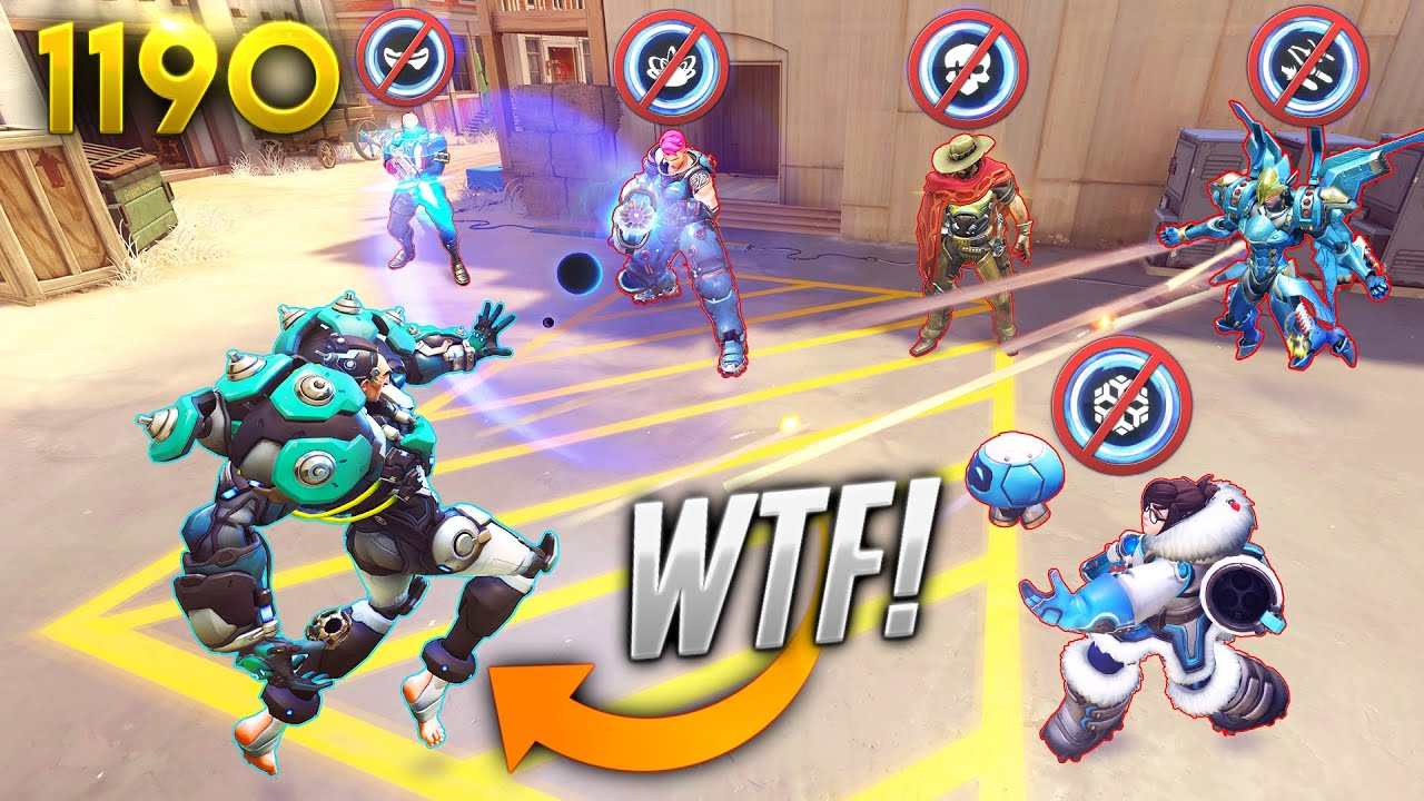 Sigma DENIES EVERYTHING!! *INSANE* | Overwatch Daily Moments Ep.1190 (Funny and Random Moments)