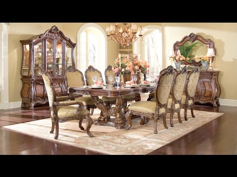 Chateau Beauvais Dining Room Collection by AICO Furniture - YouTube