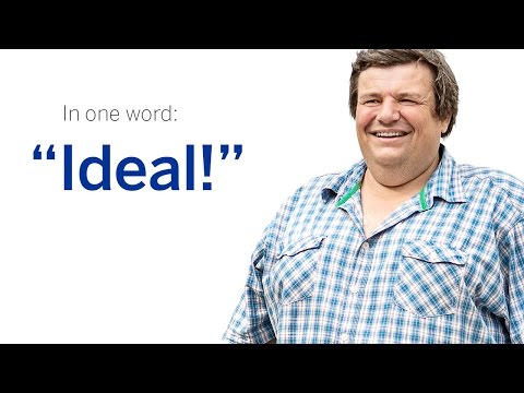 """Ideal!"" - With Christian Hartmann."
