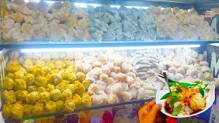 Xe há cảo hấp 7 loại cực khủng trên vĩa hè Sài Gòn | street food of saigon