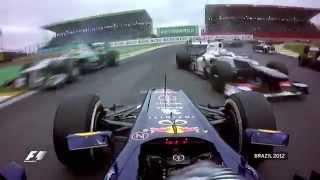 Sebastian Vettel Spins But Wins 2012 Title   Brazilian Grand Prix 2012
