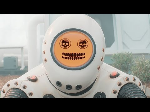 Escaping Emojibots 😢💀 - Smile Preview - Doctor Who: Series 10 - BBC