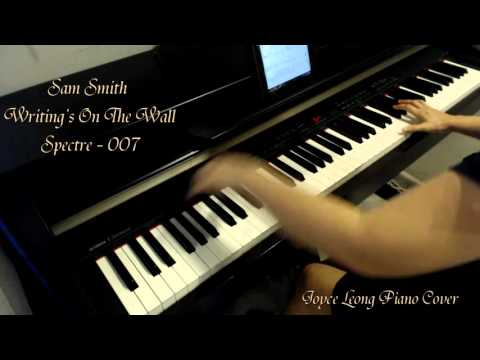Sam Smith (Spectre - James Bond 007) - Writing's On The Wall - Piano cover and Sheets