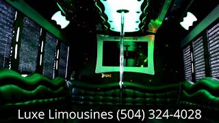 Luxe Limousines 26 Passenger Party Bus